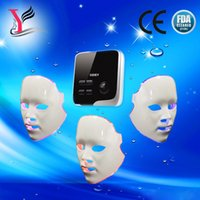 Wholesale led light therapy Skin Rejuvenation Device Home Use Facial Care Winkle Removal Machine LED facial mask