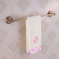 antique towel rails - European Antique Bronze Single towel bar towel rail towel holder Bathroom Accessories Products HJ F