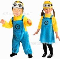 LJJD3851 50pcs Serventi costume, costume di Halloween per bambini delle ragazze dei ragazzi del partito di Cosplay, bambini manica lunga che coprono insieme