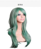 Wholesale New Cos anime cosplay curly hair color cm matte harajuku wig