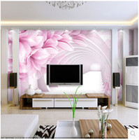 Wholesale Large living room TV wall mural wallpaper wallpaper bedroom modern three dimensional study of Chinese orchids Wen Xinyu
