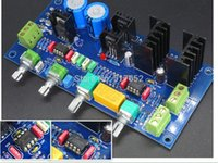 audio mid - Stereo Audio HIFI Preamplifier BASS MID TREBLE adjustable Assembled Board With OPA2604 And LME49720 Use Class A Power Supply