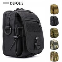 Wholesale USA Military Heavy Duty Functional Waist Pack Shoulder Messenger Crossbody Bag Ultra light Waterproof Advance Defense Range Gear