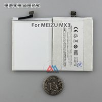 battery post replacement - Free tools Original battery mah B030 Li on Battery replacement built in For Meizu MX3 Cell phone fast sweden post ship