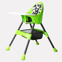 Wholesale multi function adjustable booster seat baby chairs for dining baby eating chair with PU leather seat cushion