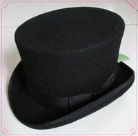beaver hat - cm inch Steampunk Mad Hatter Top Hat Victorian Vintage Traditional Wool Fedoras Hat Uncle Sam Beaver hat High hat