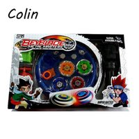 Wholesale Beyblade Arena Spinning Top Metal Fight Beyblad Toupie Beyblade Set Metal Fusion Children Gifts Classic Toys WJ086