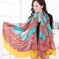 Wholesale New Style Scarf Sarongs Brisk Scarves Chiffon Printed Scarfs HQ3114