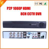 Enregistrement haute performance P2P 1080P HDMI 8CH CCTV DVR D1 vue reomote facile via l'appareil Numéro de série de sécurité DVR
