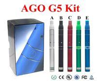 Cheap Single AGO G5 Pen Best Black Plastic dry herb vaporizer