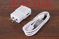 Wholesale Universal USB Ports V A Charger EU US Plug AC Power Wall Adapter For iphone Samsung Galaxy S3 Note3 retail or