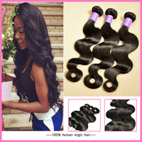mongolian hair - 7A Brazilian Virgin Human Hair Weave Natural Color Malaysian Indian Peruvian Vietnamese Mongolian Human Hair Extension