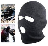 Wholesale 5 New Black Balaclava SAS Style Hole Mask Neck Warmer Paintball Fishing Ski Hat