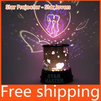 Wholesale Dreamlike Colorful Star Master Night Light Novelty Amazing LED Sky Star Master Table Light Projector Desk baby lamps