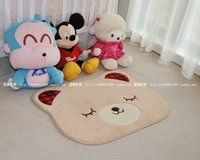 bacteria shape - Anti Bacteria Soft ground mat for Babies Cute Bear shape carpet home decoration