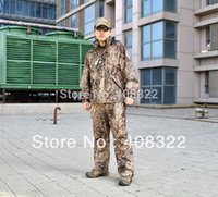 Wholesale NEW ARRIVE high quality Camouflage OAK DUCK BLIND hunting jacket camo jacket different size hunting suit