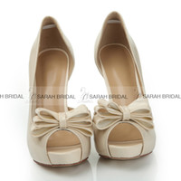beige slingback pumps - legant Nude High Stiletto Heels Wedding Shoes for Bride Peep Toe Patent leather New Bridal Party Prom Bridesmaid Dresses Shoes Cheap