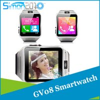 Android best tool watches - GV08 smart watch phone Best wearable tool with quot touch screen bluetooth wristwatch for iPhone Samsung HTC Android Phone