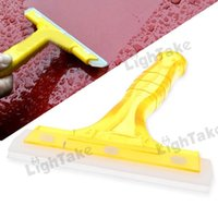 Wholesale Professional Car Auto Antislip Cleaning Squeegee Window Brush Cleaner Glass Ergonomic Wiper