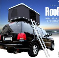 Wholesale 2017 Newest Fiberglass Hard Shell Car Roof Tent For SUV MVP and WD Outdoor Tent with Good Quality