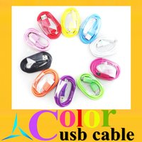 cell phone cord - micro usb data sync charge cable color cord M ft for samsung LG HTC and other cell phone