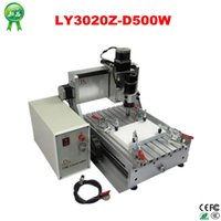 Wholesale Russia no Ship no Tax mini CNC W router engraver machine axis cnc rounter factory price
