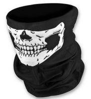 bandana headband - Cool Skull Bandana Bike Helmet Neck Face Mask Paintball Ski Sport Headband new fashion good quality low price