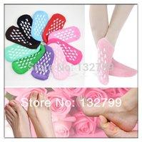 acrylic spa repair - Feet Gel Spa Socks Foot Skin Soften Repair Cracked Moisturizing Treatment Socks
