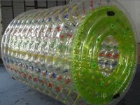 Wholesale water roller M PVC mm water roller ball toys or name water zorb ball summer