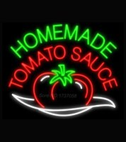 beer sauces - Homemade Tomato Sauce Neon Sign Avize Neon Nikke Air Jorddan Neon Signs Real Glass Tube Custom Design Handcraft Beer Pub