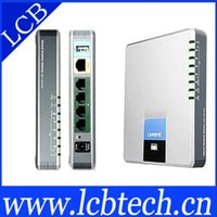 Wholesale Unlocked Linksys SPA Internet SIP VoIP adapter with FXO
