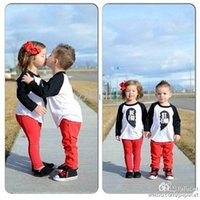 best sister shirt - Family Clothes European And American Style Cotton Children s Clothing Best Friend Sisters brothers Lovers White T shirt