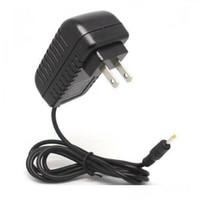 Wholesale 20pcs mm Jack EU US Plug Charger Adapter AC V V V mA Power Supply Adaptor for Tablets Russia
