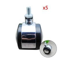 Wholesale New Alloy Sofa OFFICE CHAIR CASTORS REPLACEMENT PARTS office supplies High quality