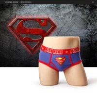 batman underwear men - Mens Underwear Hot Sale ps New Arrival Brand Men s American Printing Underwear Superman Batman Spiderman Male Men Briefs