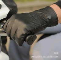 Finger Gloves artificial leather manufacturer - Manufacturers Direct Selling Winter Men s Outdoor Gloves Leather Gloves for