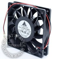 ball bearing housing - New FFB1212EH V A CM dual ball bearing cooling fan violence for Delta mm fan house
