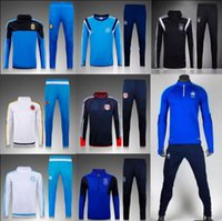 Wholesale Fall Survetement Football National team Tracksuit Maillot de Foot Training Maillot Tracksuit pants