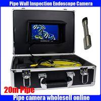 Wholesale 50m Waterproof Pipe Wall Drain Inspection pipe Camera System Pipe Plumbing Camera pipe Borescope camera Freeship