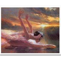 ballet stitch kit - 3D diy diamond embroidery kits Ballet girl full square crystal rhinestones cross stitch painting unfinish diy diamond painting