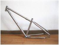 Wholesale Handle custom er mtb titanium bicycle frames with handle brushing