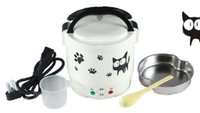Wholesale The Koreanversion of the minielectronic rice cookerportable mini electric ricecookerkitchensmall appliances factory direct sales