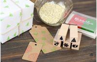 Wholesale set DIY accessories handmade stationery Christmas pattern stamp inkpad