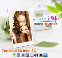 Cheap Wholesale-Teclast G18 mini 3G Phone Tablet 7.85 inch Android 4.2.2 Quad Core CPU MTK8389 1G RAM 16G ROM