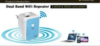 Wholesale High Speed Mbps GHz GHz Concurrent Dual Band WiFi Repeater Router Extender
