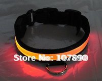 Wholesale 20 discount DHL UPS flashing LED dog collar led pet collar