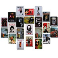 Wholesale Metal painting movie star seires home decorative painting iron wall poster painting cm
