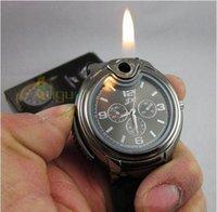 al por mayor reloj más ligero de gas-Nueva novedad Collectible reloj butano encendedores encendedor más ligero encendedor encendedor butano encendedor usb encendedor encendedor más ligero