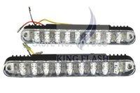 Wholesale 2014 Hot Sales x Car White LED DC V Fog Lamp Driving Day Daytime Running Light W