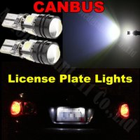 lens for cree led - 2pcs White T10 W5W Led Canbus Cree Projector Lens Car Light for Volkswagen Passat Golf CC C B7 Tiguan Touareg Scirocco